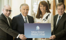 Sidney Kimmel and crew