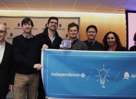 Stephen Klasko with CubeSmart Health Hack winners 2015